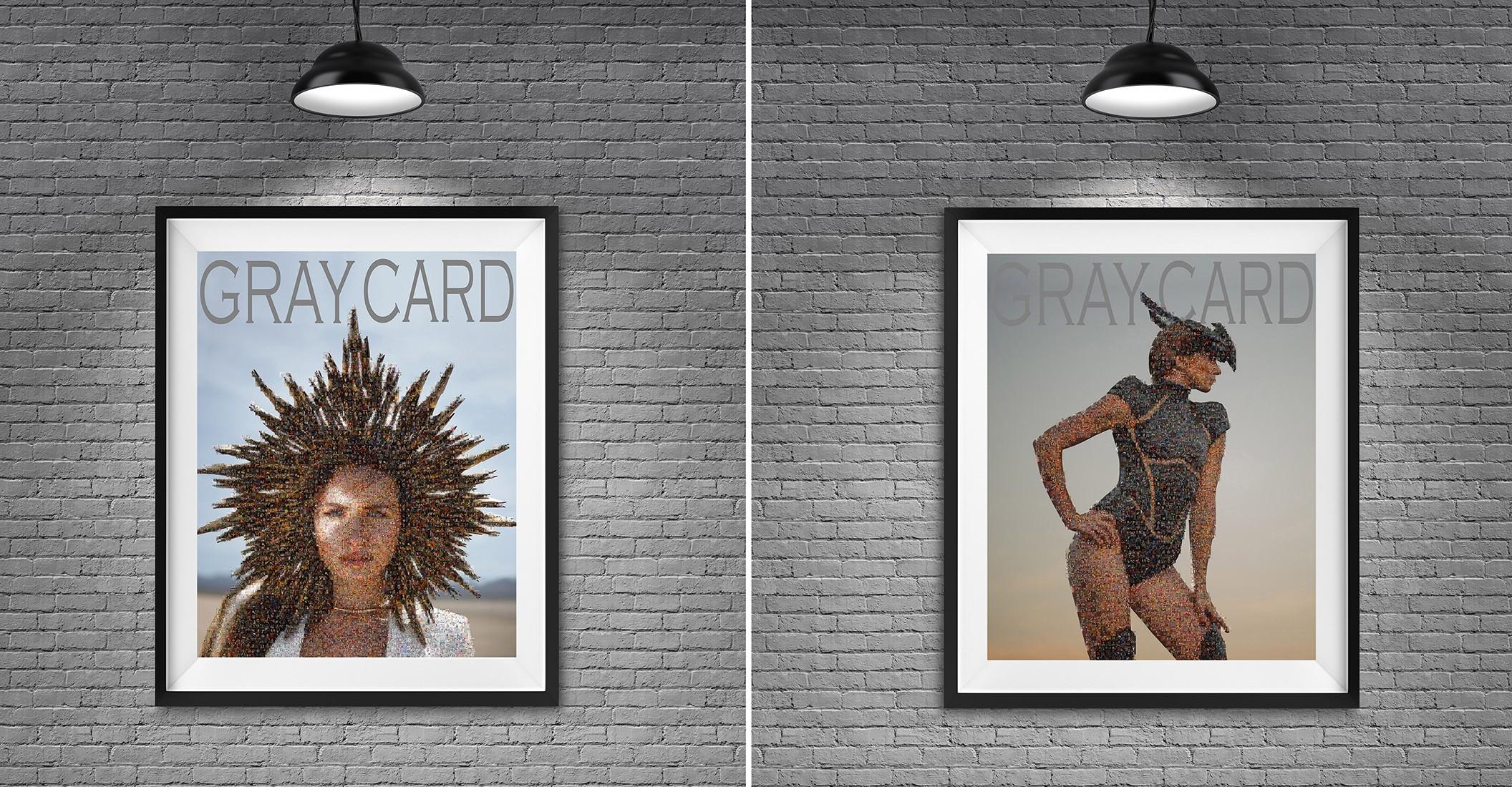 GRAY CARD   Mosaic Prints: Volume #